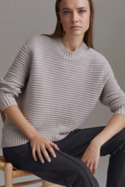 Varley High Low Boxy Ribbed Sweater - Product Mini Image