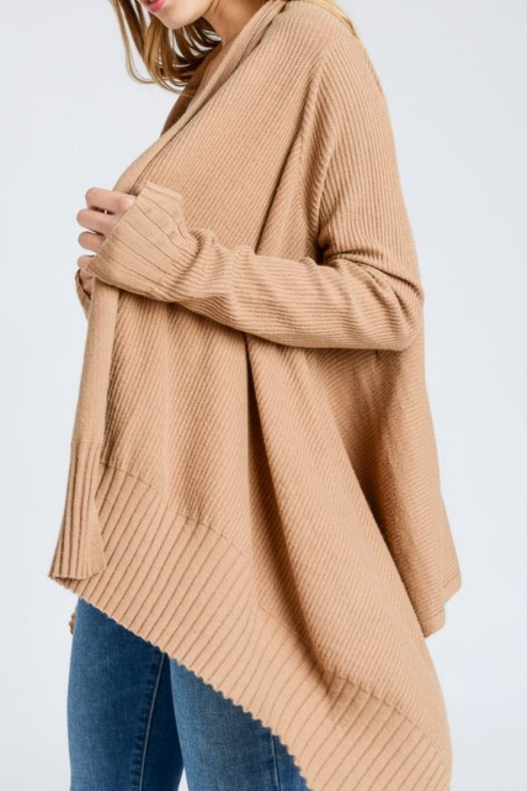 Love Tree High-Low Cardigan - Front Full Image