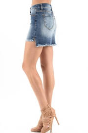 KanCan High Low Denim - Front full body