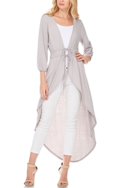 Anama High-Low Dramatic Cardigan - Product Mini Image