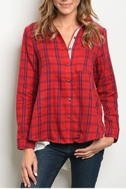 crescent High-Low Flannel - Product Mini Image