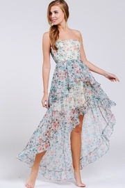 AAKAA High-Low Floral Maxi - Product Mini Image