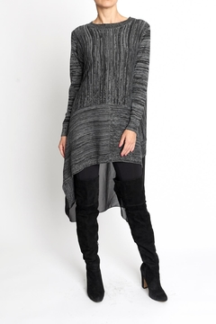 Shoptiques Product: High-Low Grey Tunic