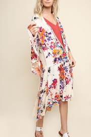 Umgee High Low Kimono - Product Mini Image