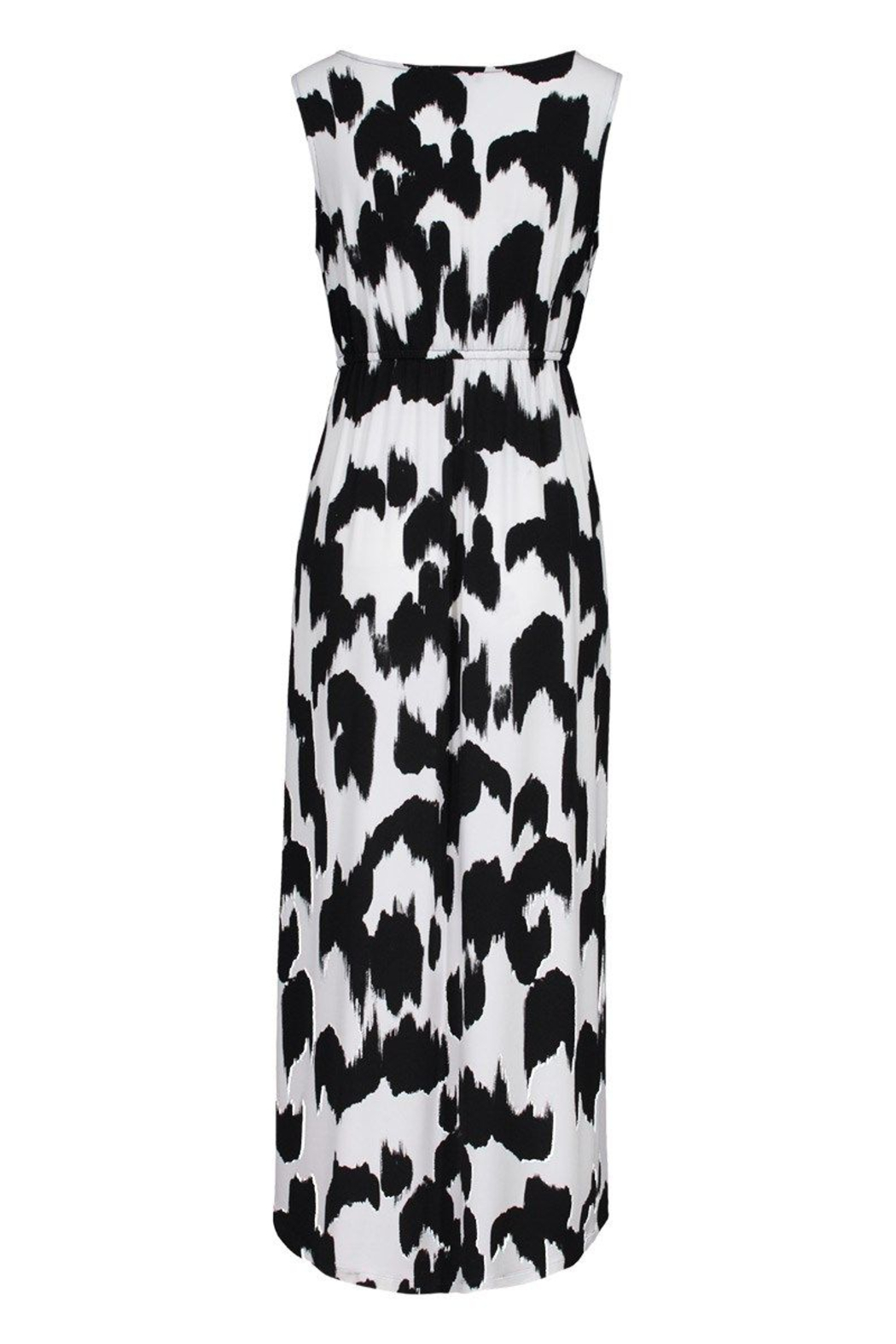 tribal  High Low Maxi Dress - Front Full Image