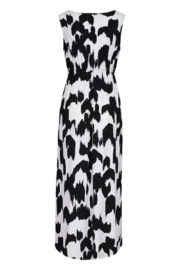 tribal  High Low Maxi Dress - Front full body
