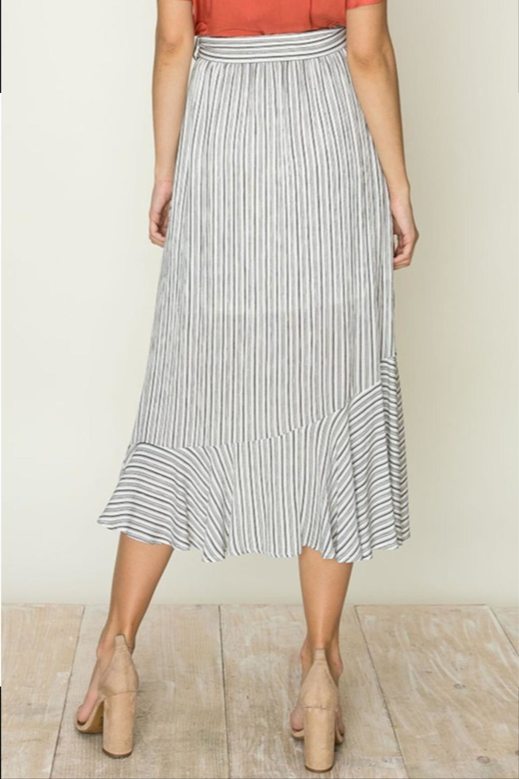HYFVE High-Low Ruffle Skirt - Side Cropped Image