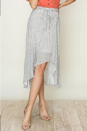 HYFVE High-Low Ruffle Skirt - Front cropped