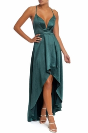 luxxel High-Low Satin Dress - Product Mini Image