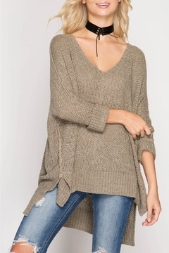 Shoptiques Product: High-Low Slouchy Sweater