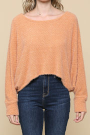 Illa Illa High-Low Soft Knit Top - Product Mini Image