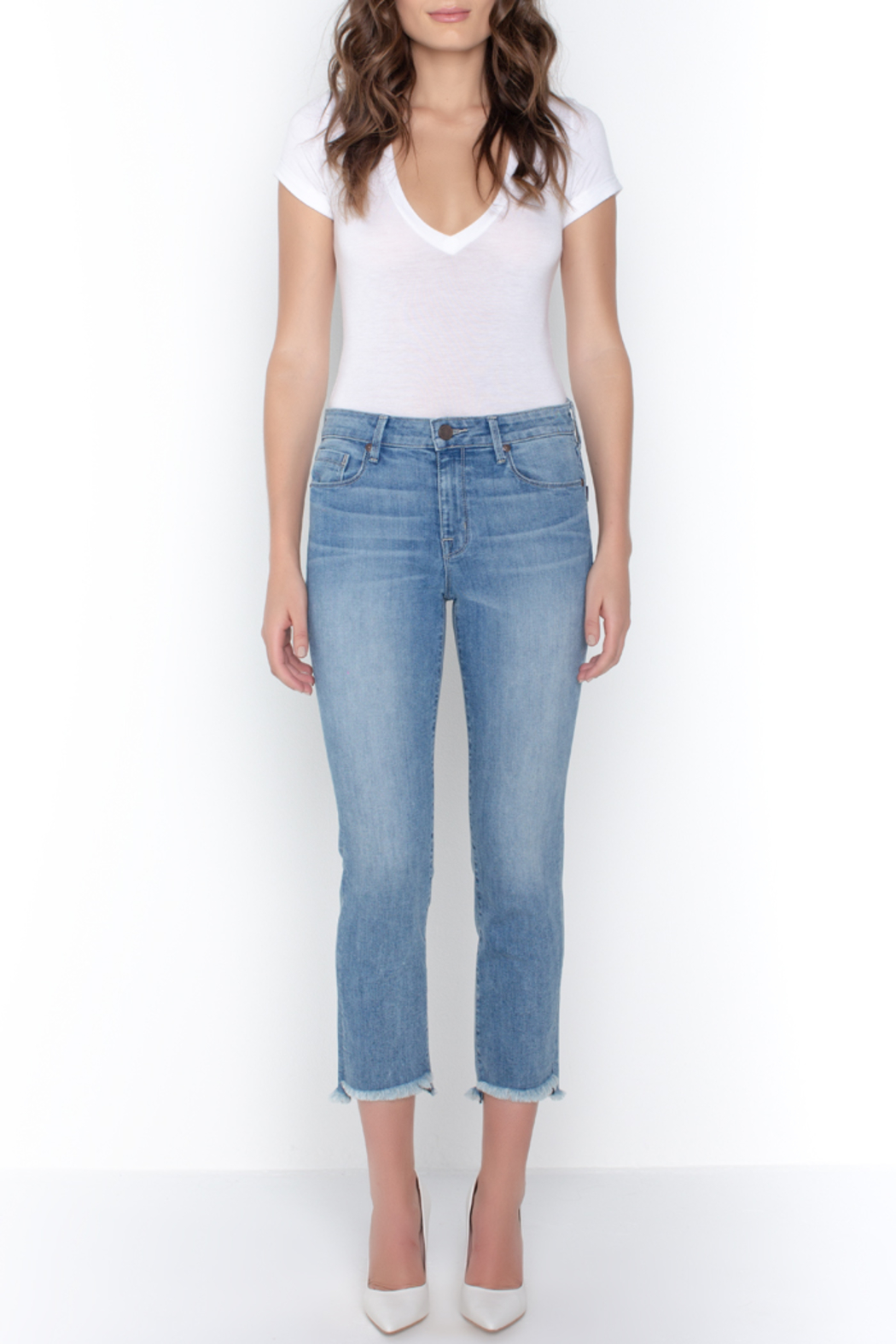 Parker Smith  HIGH-LOW STRAIGHT JEAN - Main Image