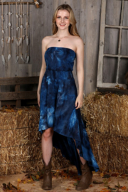 Ninexis High Low Strapless Dress - Product Mini Image