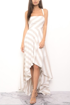 Blithe  High-Low Stripe Dress - Product List Image
