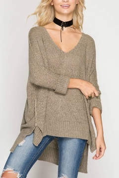 Shoptiques Product: High Low Sweater