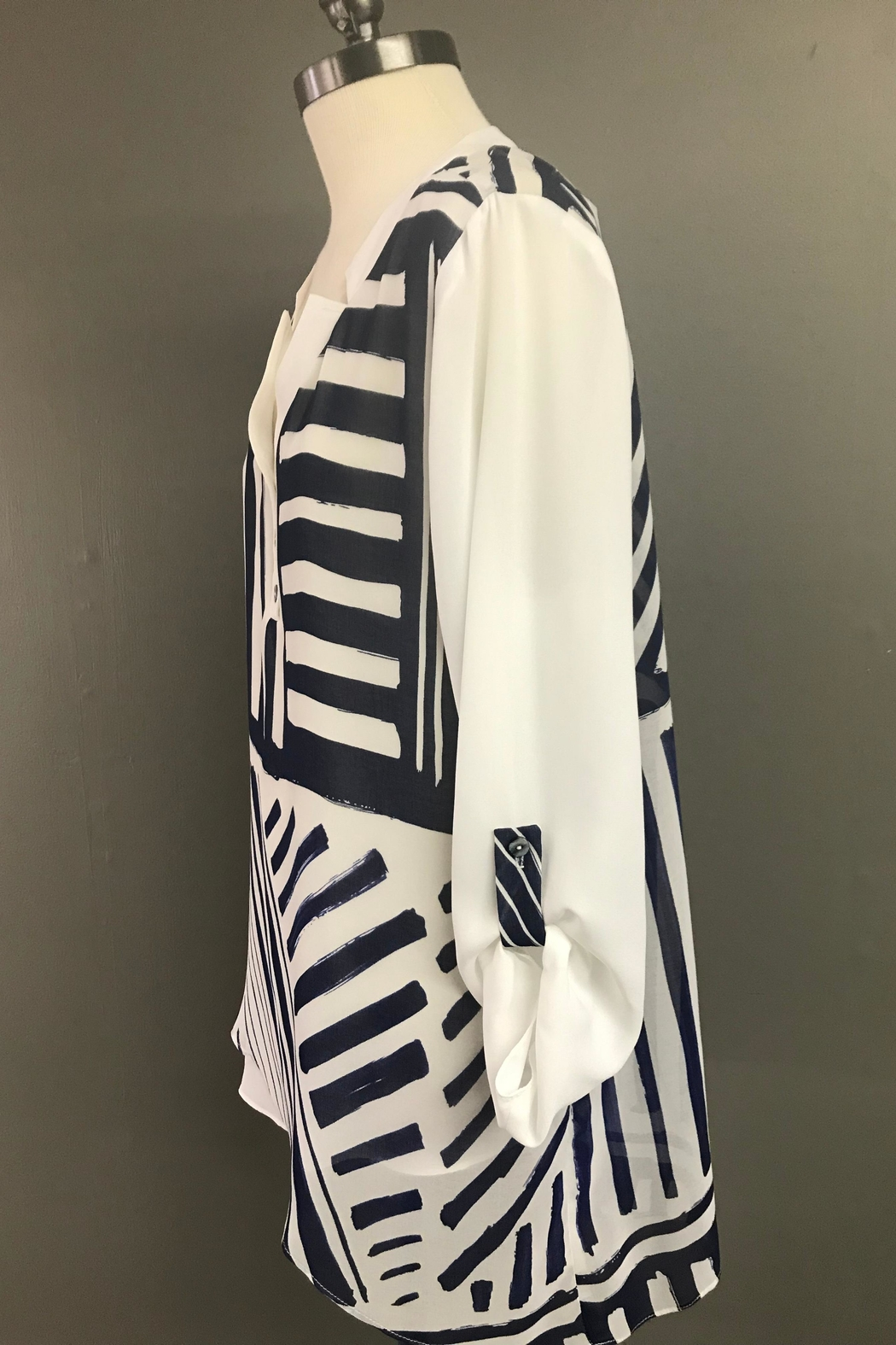 Michael Tyler Collections High Low Tunic - Front Full Image