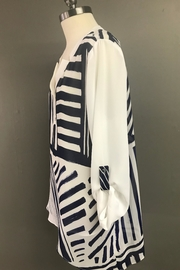 Michael Tyler Collections High Low Tunic - Front full body