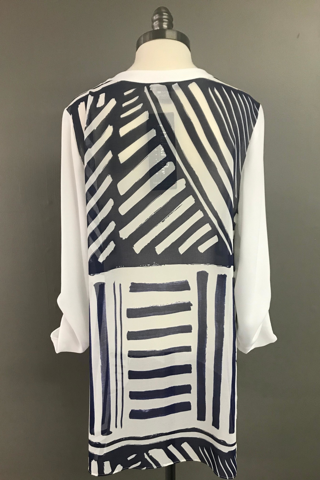 Michael Tyler Collections High Low Tunic - Side Cropped Image