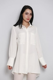 Zanzi High-Low Tunic Shirt - Product Mini Image