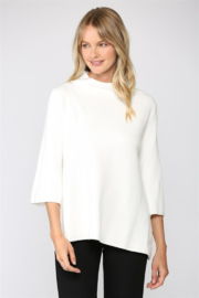 Fate High Neck 3/4 Top - Product Mini Image