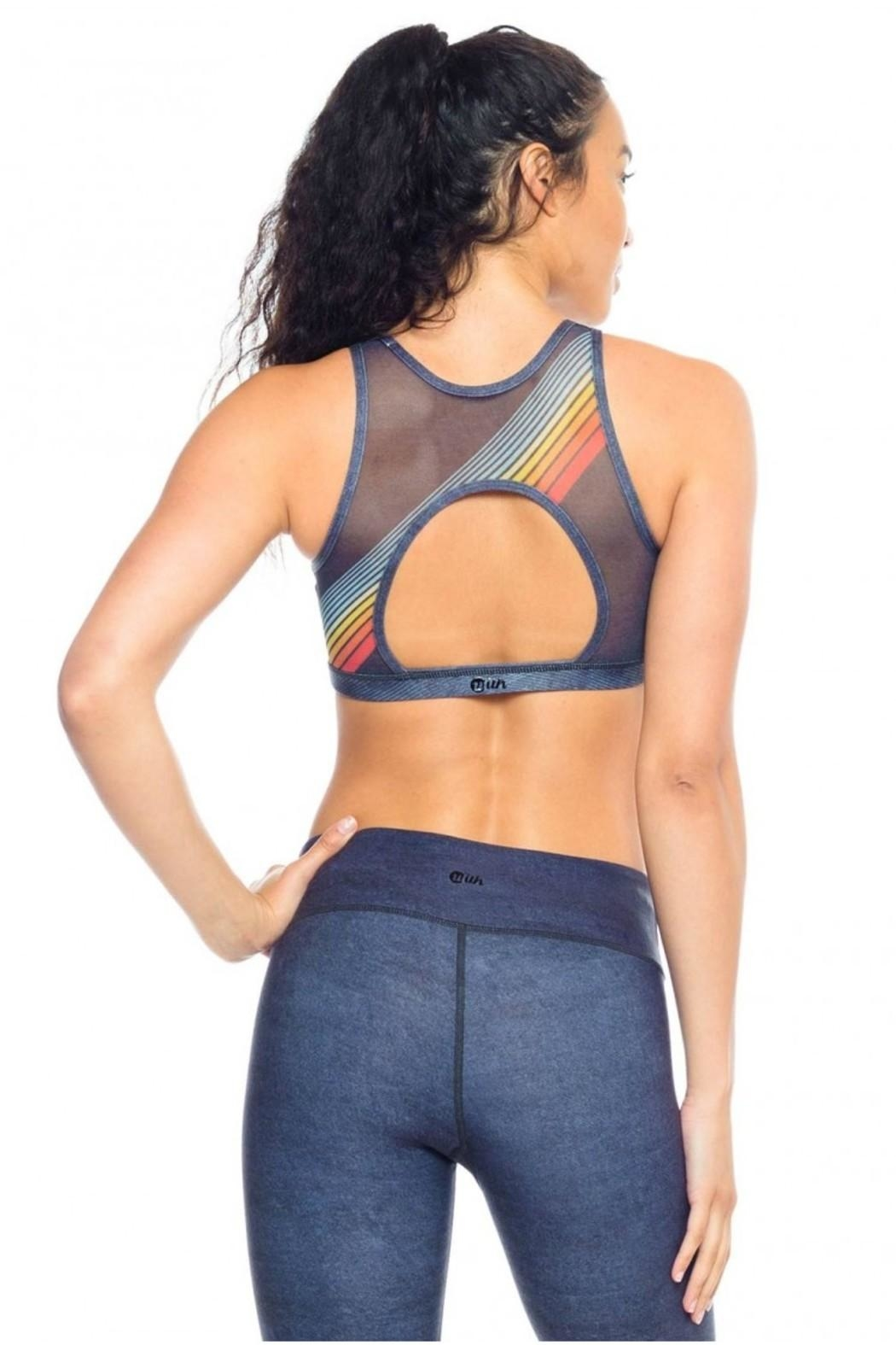 W.I.T.H.-Wear It To Heart High Neck Bra - Front Full Image