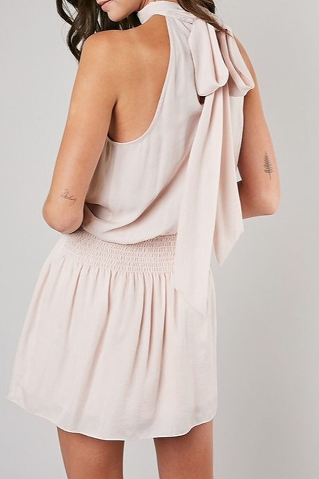 Do & Be High Neck Dress - Side Cropped Image