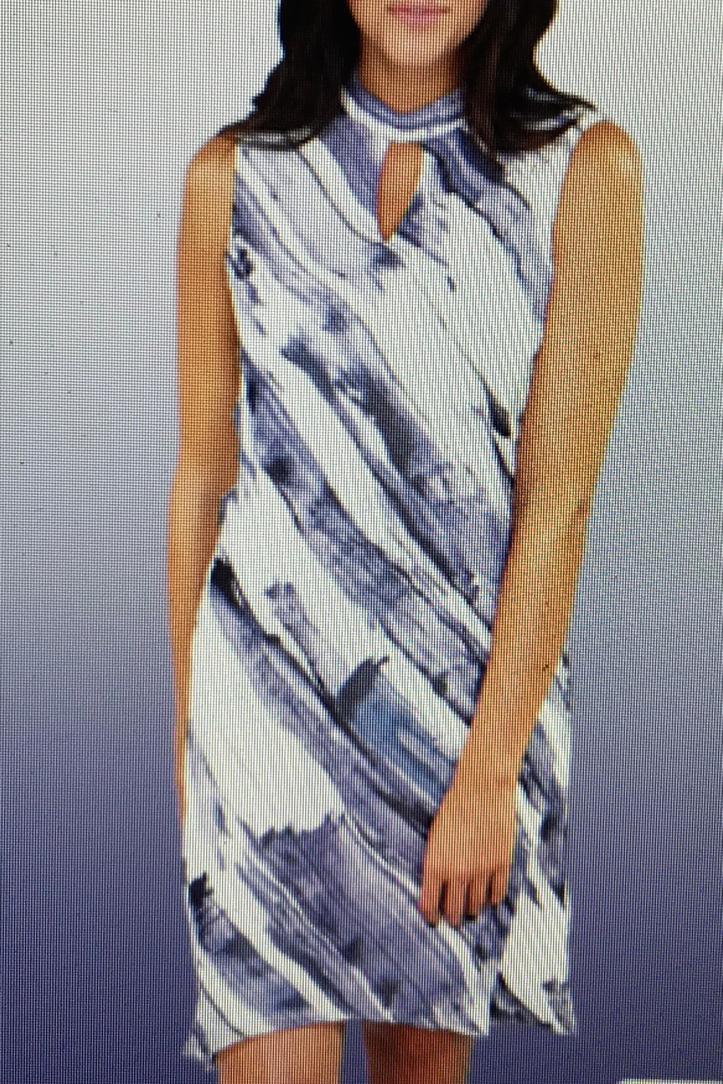 Michael Tyler Collections High Neck Dress - Main Image