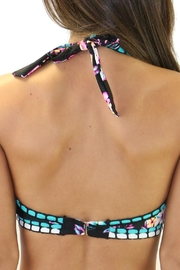 Heat Swimwear High Neck Floral - Side cropped