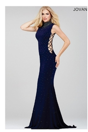 Jovani High Neck Gown - Product Mini Image