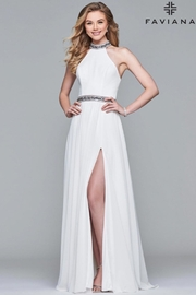 Faviana High Neck Gown - Product Mini Image