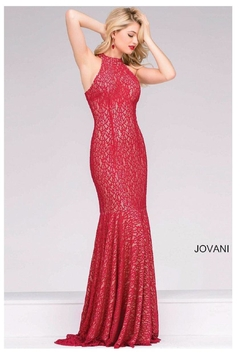 Jovani High Neck Gown - Product List Image