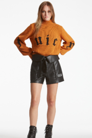 Juicy Couture High Neck Juicy Sweater - Product Mini Image