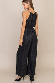 Lush  High Neck Jumpsuit - Front full body