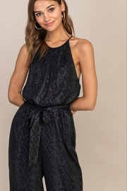 Lush  High Neck Jumpsuit - Side cropped