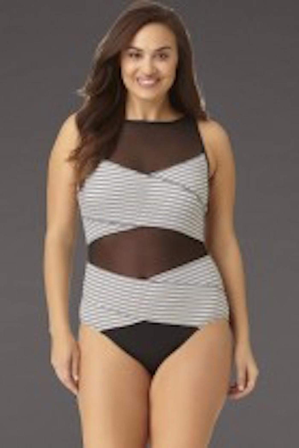 Anne Cole Signature High Neck Maillot - Main Image