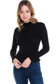 Better Be High-Neck Ribbed Shirt - Product Mini Image