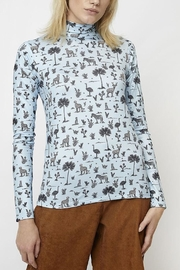 Compania Fantastica High Neck Safari Top - Product Mini Image