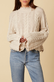 Cotton Candy LA High Neck Sweater - Product Mini Image