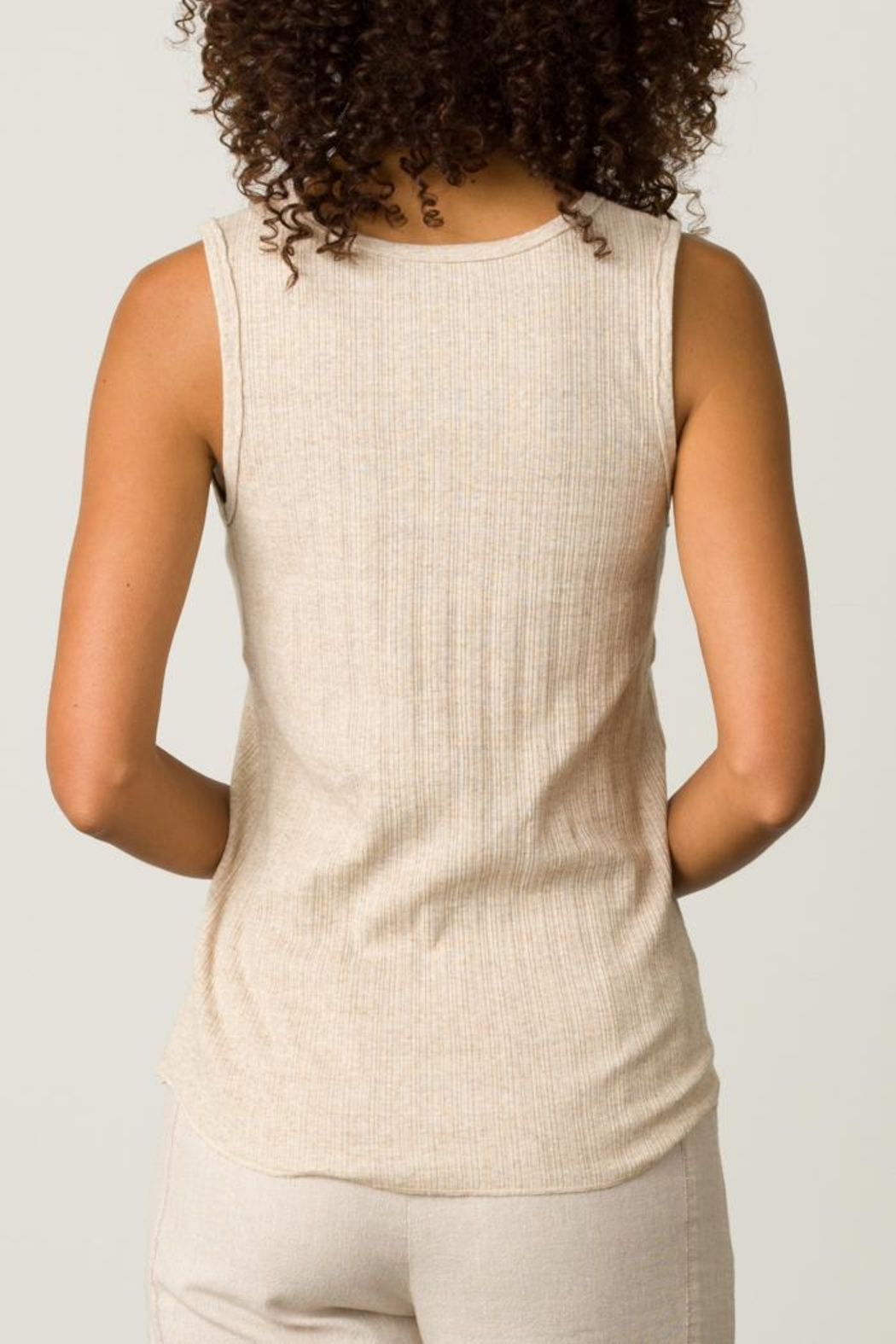 Margaret O'Leary High Neck Tank - Side Cropped Image