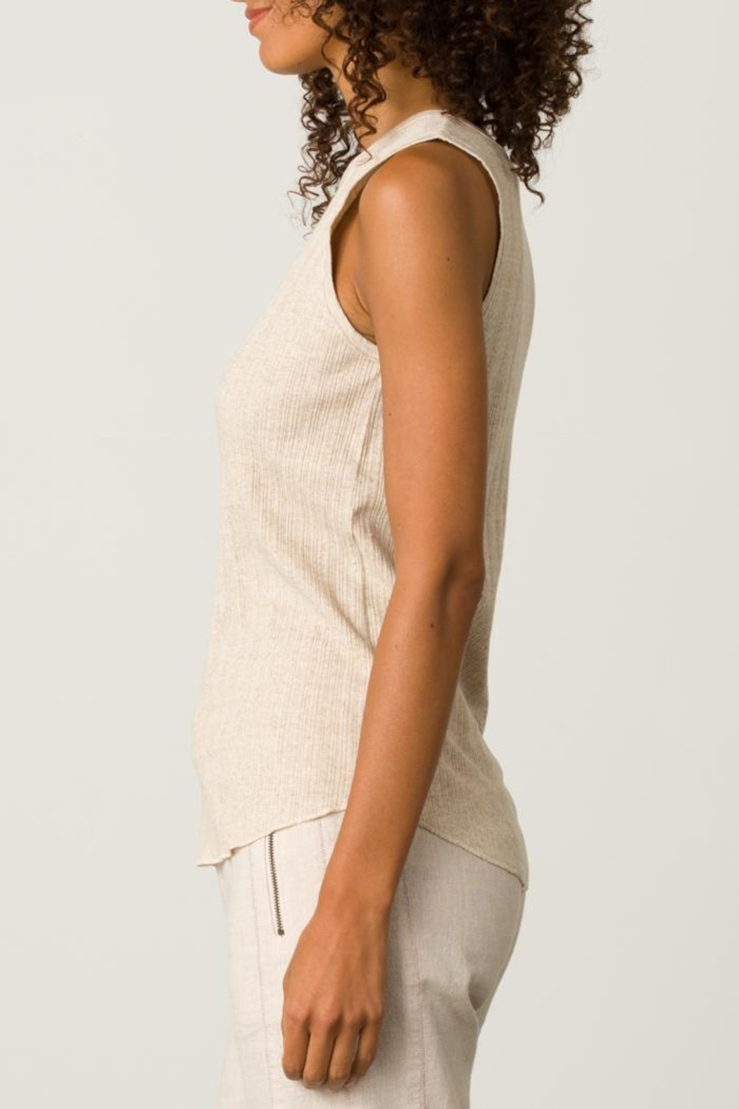 Margaret O'Leary High Neck Tank - Front Full Image