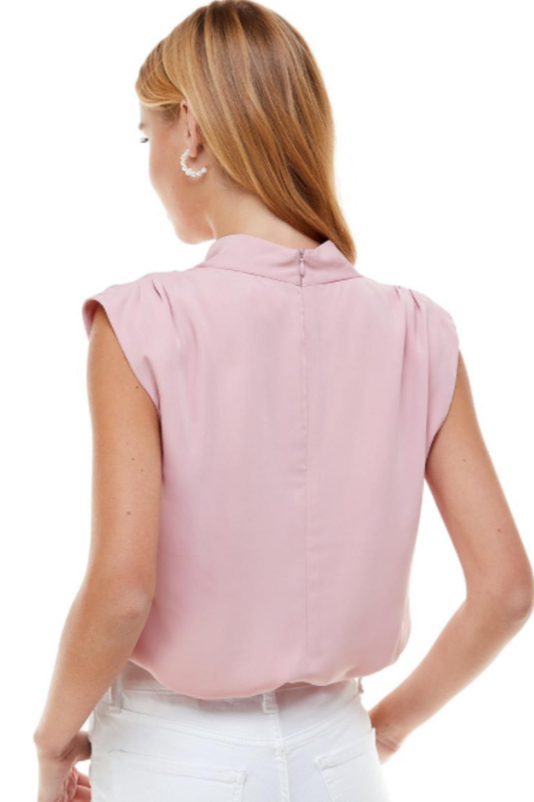 TCEC High Neck Top - Front Full Image