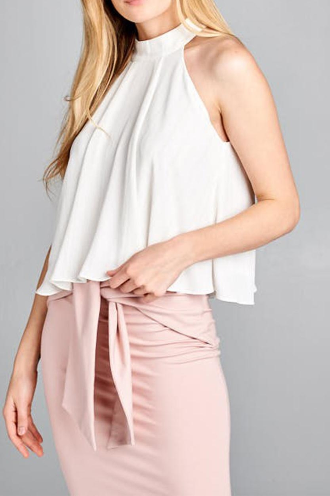 jane plus one High Neck Top - Main Image