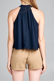 jane plus one High Neck Top - Front full body