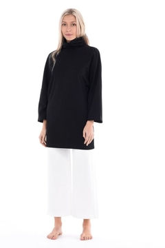 Paper Label High Neck Tunic - Product List Image
