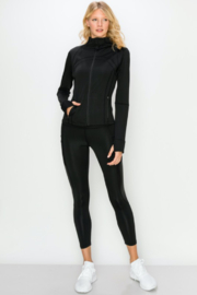 NELEMENT X KIMBERLY C. High Neck Zip-up Jacket - Product Mini Image