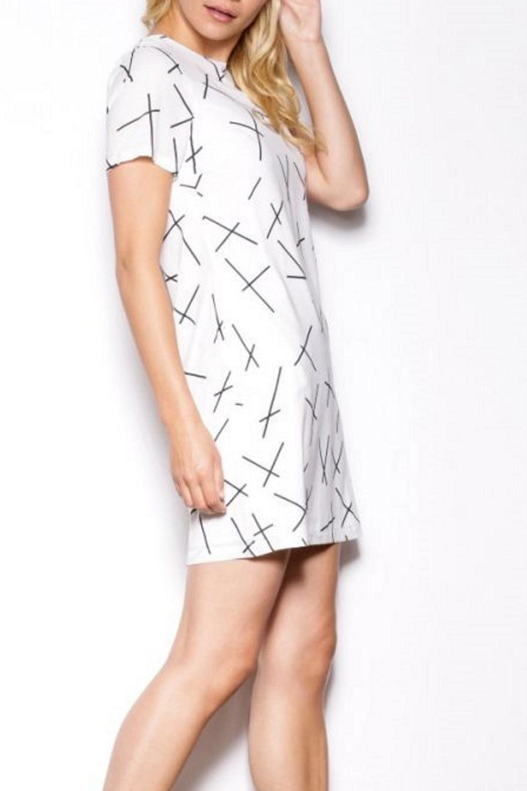 Pink Martini High Noon Dress - Side Cropped Image