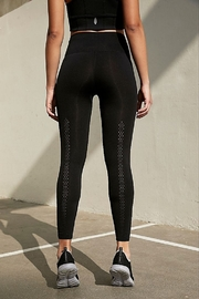 Free People High Rise 7/8 Length Good Karma Leggings - Front full body