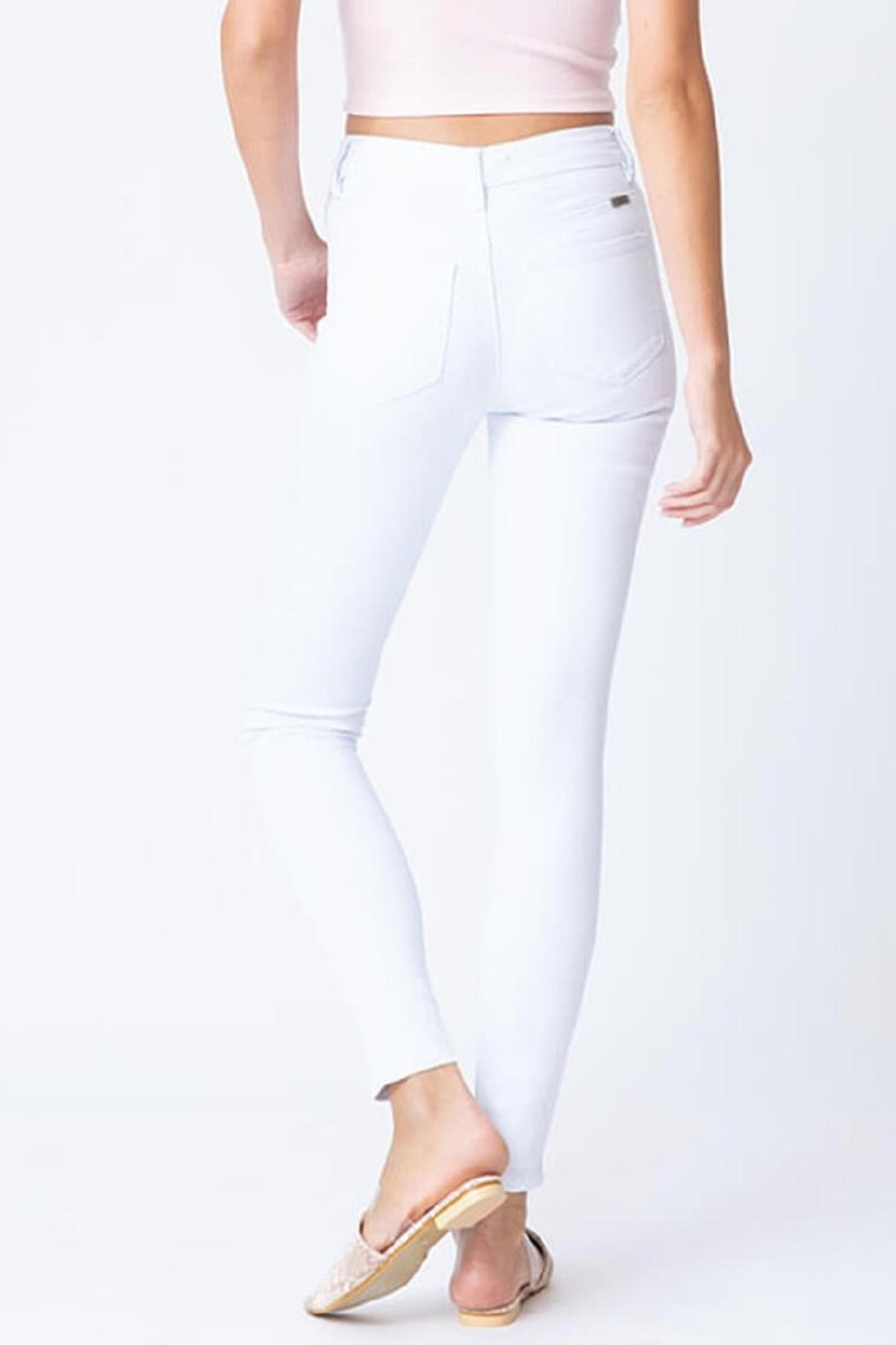 KanCan High Rise Ankle Skinny - Side Cropped Image