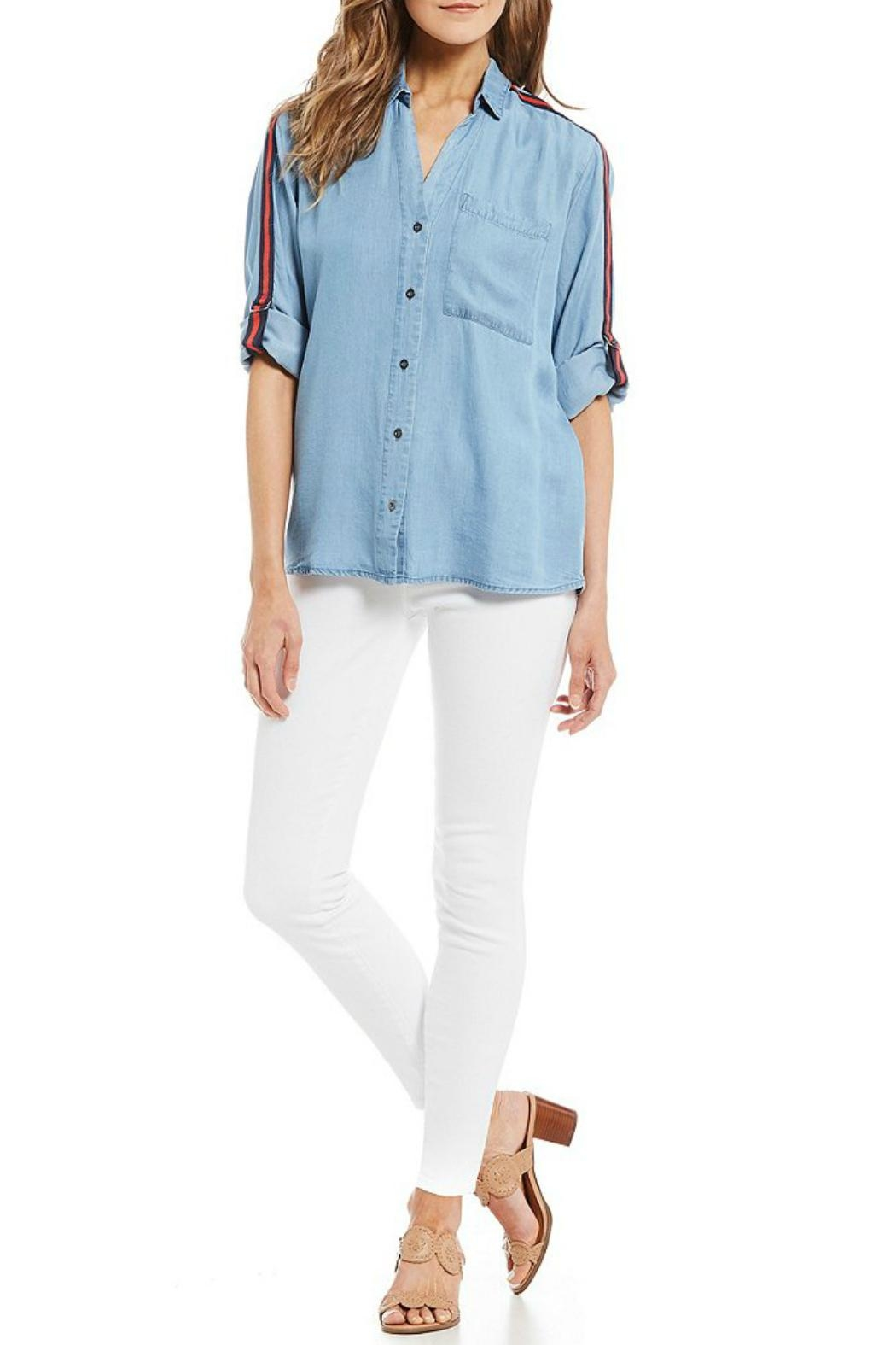 Kut from the Kloth High-Rise Ankle-Skinny Jeans - Side Cropped Image