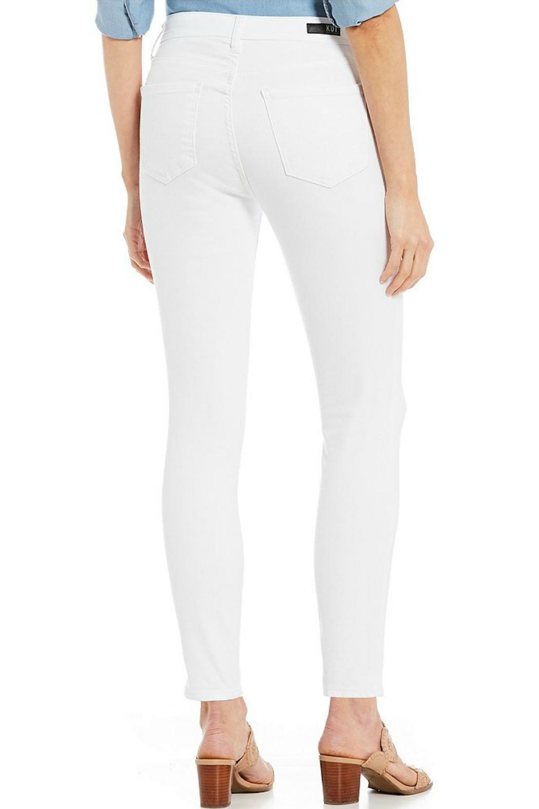Kut from the Kloth High-Rise Ankle-Skinny Jeans - Front Full Image